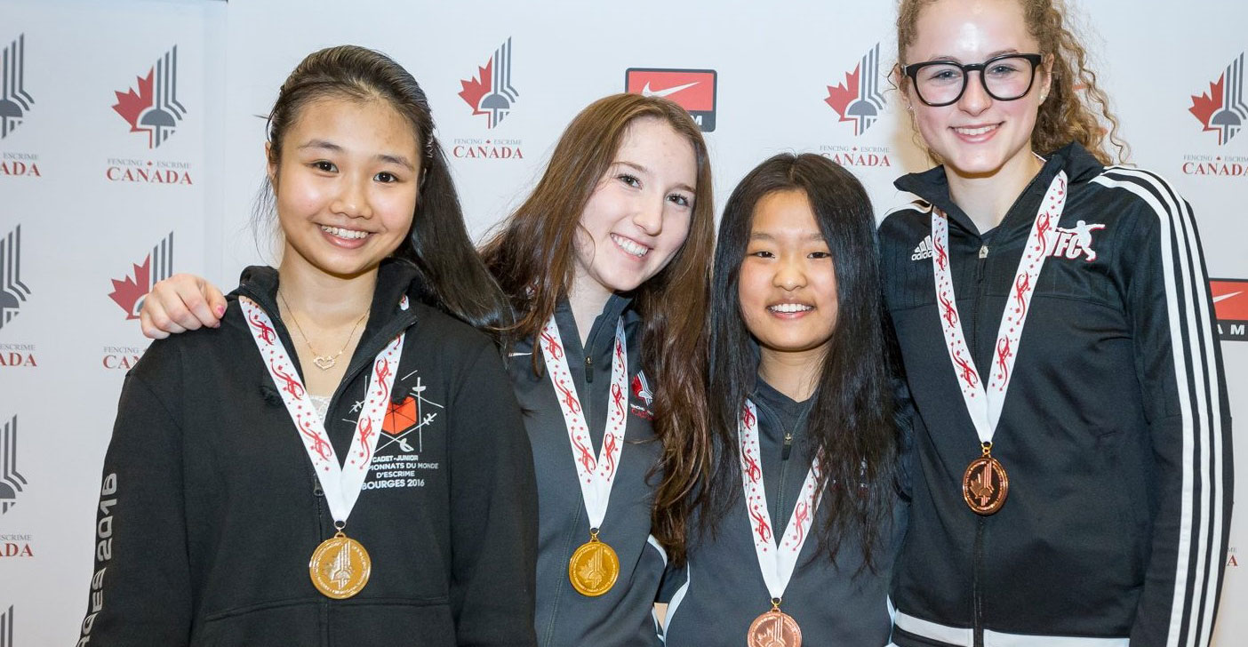 Athlete Profiles Canadian Fencing Federation Canadian