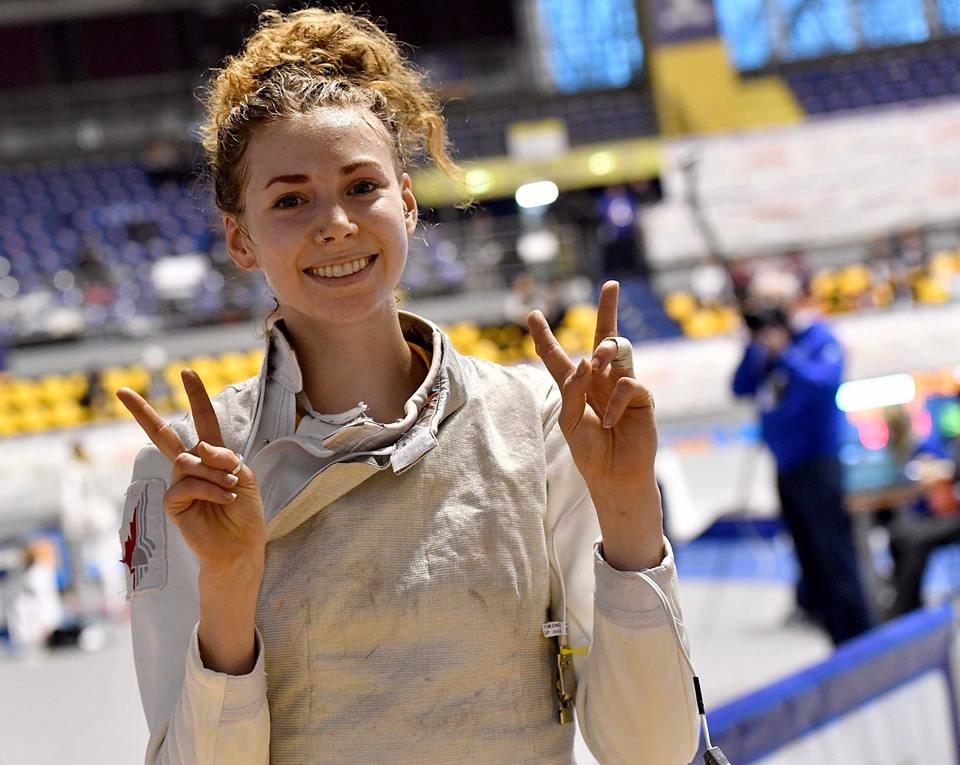 Eleanor Harvey Finishes 7th In Women S Foil Grand Prix In